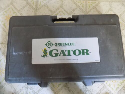 "Greenlee ""GATOR"" ES750 Cable Cutter (Bare Tool) **Please Read**"