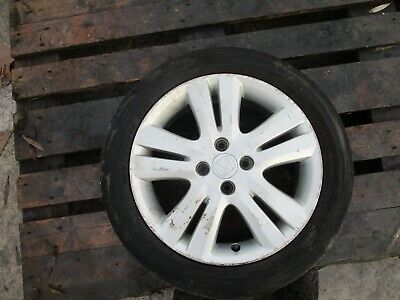 2013 HONDA JAZZ 4 STUD 16'' ALLOY WHEEL AND TYRE 185/55 R16 GENUINE OEM