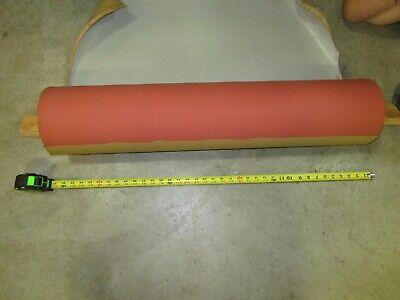 Republic 7.25 Od X 34 Rubber Coated Conveyor Pressure Roller Bore 3-38