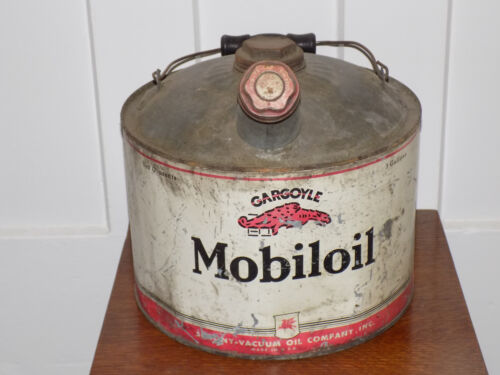 Mobiloil Gargoyle 3 Gallon Empty Can
