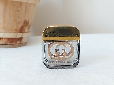 Vintage Gucci Perfume Glass Bottle - Miniature Gucci perfume glass