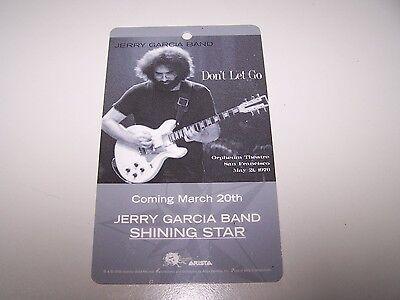 Jerry Garcia Band Lanyard / Card Grateful Dead