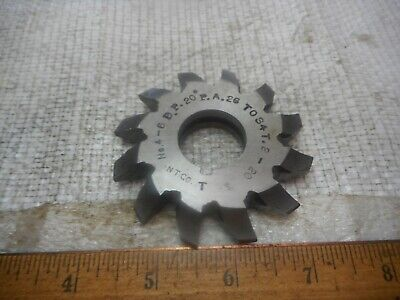 Walzenfräser USSR Gear Hob Cutter M0.8 HSS PA20 Z10 Zahnradfräser