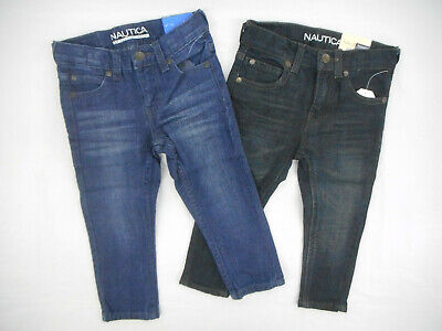 Toddler Boys Nautica &37.50 Assorted Skinny Stretch Fit Jeans Sizes 2T, 3T & 4T