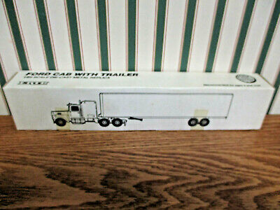 Ottilie Seed Ford Semi With Van Trailer By Ertl 1/64th Scale 5