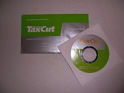 Hr Block Taxcut Premium 2005 With State Deduction Cd