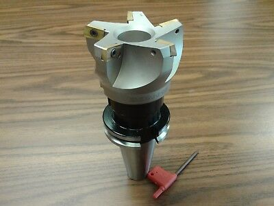 3 75 Degree Indexable Face Shell Millmilling Cutter Cat40 Apkt 506-75ap-30