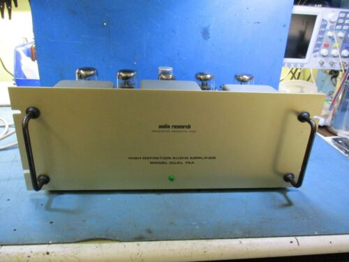 Audio Research D75A Tube Amp