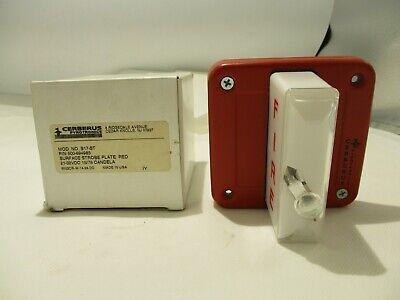 New Cerberus Pyrotronics S17-st Fire Alarm Strobe Red
