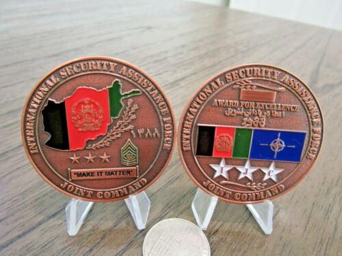 International Security Assistance Force Joint Command ISAF GWOT Challenge Coin