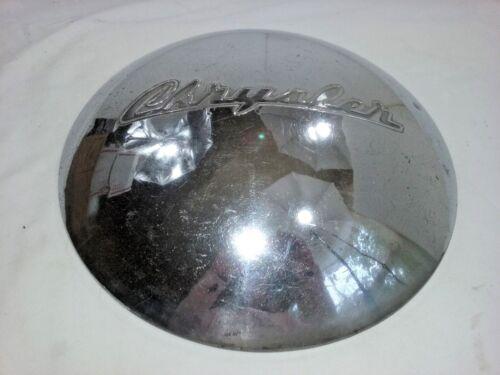 """1946-1949 Chrysler Dog Dish Hub Cap Chrome 11""""      -  H02"""
