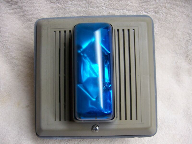 Edwards Catalog Number 868STRB-N5 Blue Outdoor Horn & Strobe Light