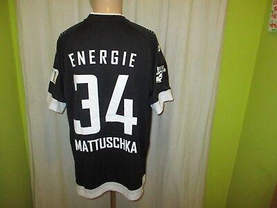 FC Energie Cottbus saller Matchworn Trikot 2016/17 + Nr.34 Mattuschka Gr.L/XL image