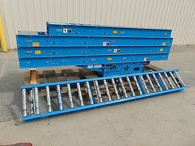 48 Hytrol Driven Belt Conveyor - Gravity Roller Conveyor
