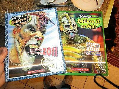 Lot of 2 Ripley's Believe It or Not!  2010 3-D Special Edition 2010 3-D - FOLLOT