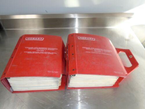 Hobart Service manuals for its cooking line. Older equipment. Volume 1 & 2