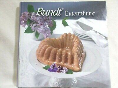 Bundt Entertaining Nordic Ware 2004 Spiral Hardcover 100+ Recipes