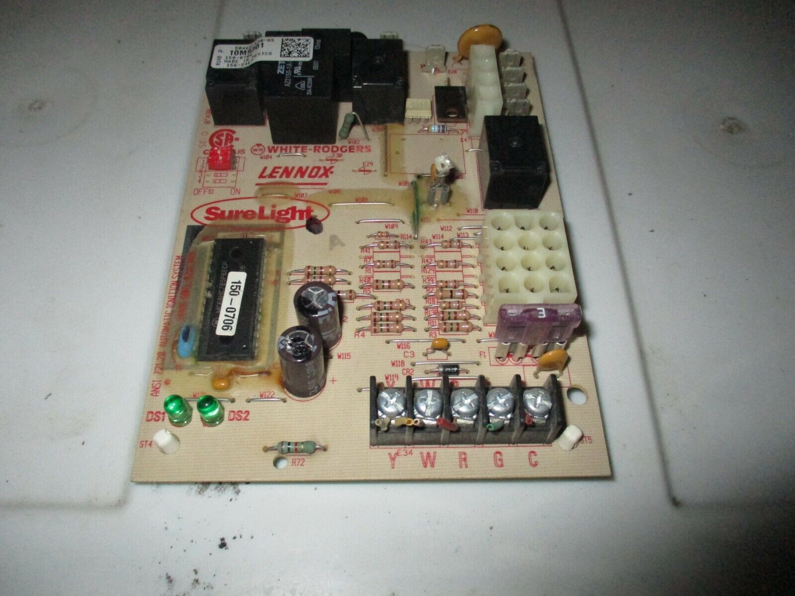 Lennox Furnace Control Board Wiring Diagram On White Rodgers Ignition