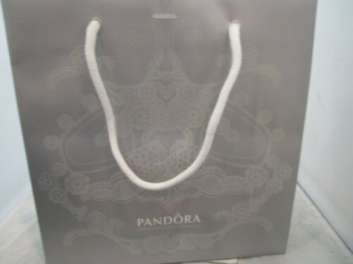 Vintage Silver Pandora Gift Bag Shopping Bag Used One Time