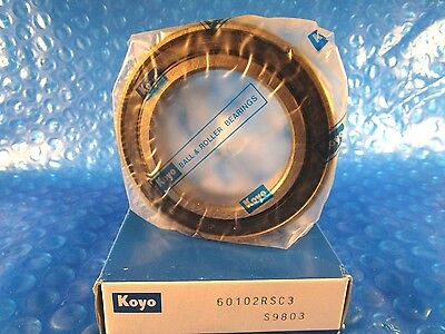 Koyo 6010 2rs C3 6010 2rsc3 Single Row Radial Bearing 2 Skfntntimken9110pp