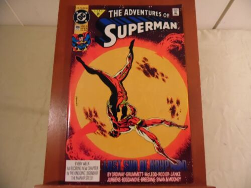 Adventures of Superman #480 (DC 1991) Free Domestic Shipping