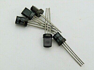 5 Pcs 2n2923 Transistor To-92 Vintage Old Style