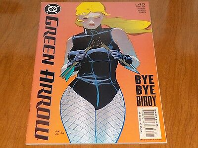Green Arrow #40 (2004) First Appearance BRICK - HOT Female villain! TV - Female Comic Villains