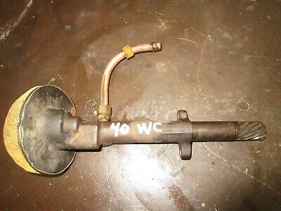 Allis Chalmers Wc Used Working Engine Oil Pump Antique Tractor