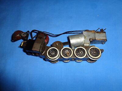 American Flyer #342 Switcher Locomotive Chassis/Frame w/Motor & Smoke Unit. Runs