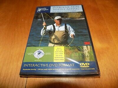 INTRODUCTION TO FLY CASTING Scientific Anglers Techniques Instruction DVD (Fly Casting Dvd)