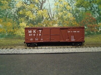 Used,  MICRO-TRAINS N SCALE #29040 40' OUTSIDE BRACED BOXCAR M.K.T. #67019 for sale  Shipping to Canada