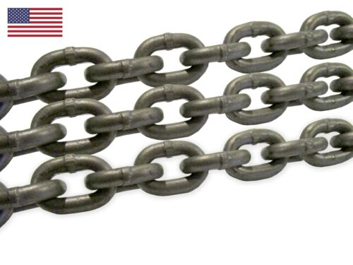 USA Campbell 9/32 Grade 100 Alloy Chain for Rigging Lifting Industrial Overhead