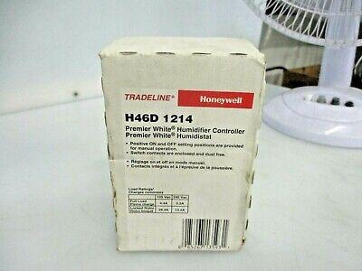 New Honeywell Tradeline Humidistat Controller H46d 1214