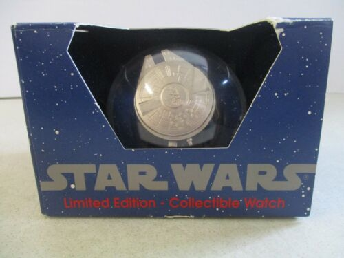 STAR WARS MILLENNIUM FALCON LIMITED 1 OF 10,000 COLLECTIBLE WATCH 1993 IN BOX