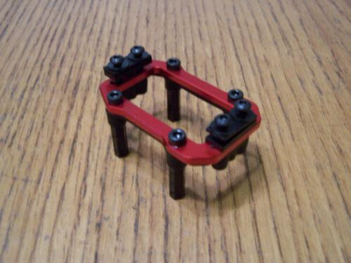 Arrma Kraton EXB 6s Red Aluminum Servo Mount w/ Plate Posts Spacers & Top Screws