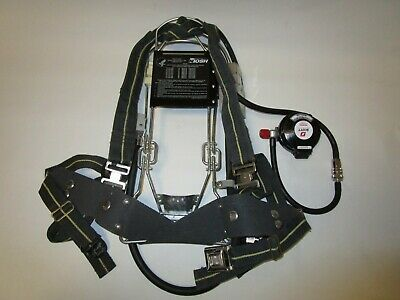 Scott Industrial Scba Iscba Air Pak Harness 4.5 Ez-flow Regulator