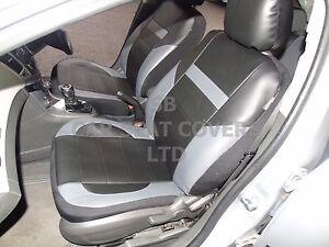I-S-PER-UN-LEXUS-RS-AUTO-Coprisedili-PVC-pelle-Nero-Grigio-59-99