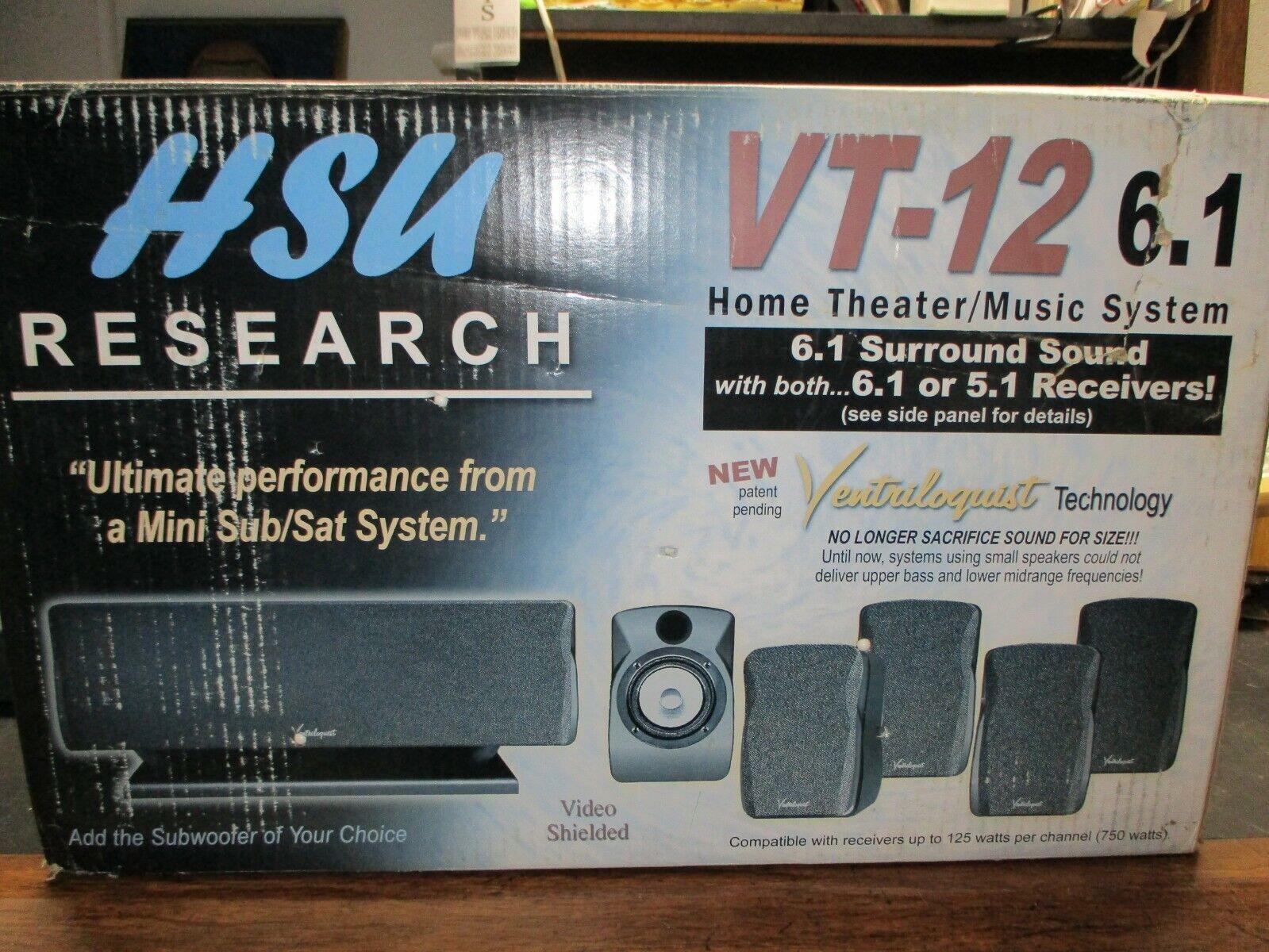 surround sound system h s u research