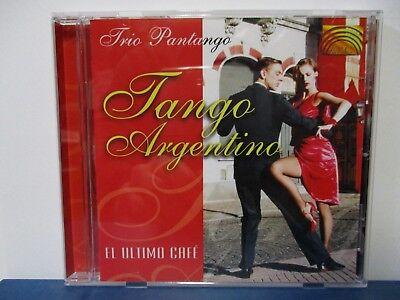 Trio Pantango   Tango Argentino   Ultimo Cafe   Cd   Mint Condition  E18 335