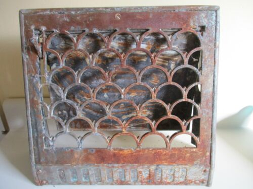 Vintage Decorative Antique Brass Floor / Wall Heat Vent Grate Register