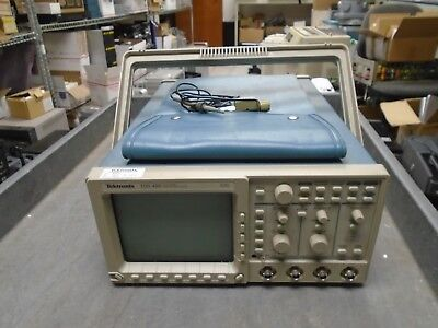 Tektronix Tds460 Digital Oscilloscope 350 Mhz 100mss 4 Ch With P6138a Probe