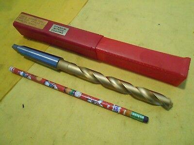 New 2 Morse Taper Shank 916 Drill Bit Drilling Tool Tin Coated Skf Dormer Usa
