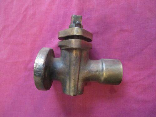 vintage portable steam engine traction engine large brass tap  original old part