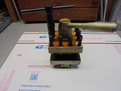 South Bend Turret Tool Post For Leblond South Bend Monarch Other 14 Lathes