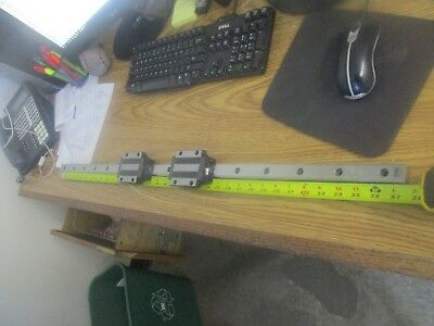 Thk Linear Assembly With 2 Tables On . 37 Rail. Unused Old Stock
