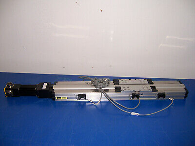 11537 Parker Slide 404350xrmsd2h3 About 14.5 Travel W Compumotor Sm162ae-ngsn