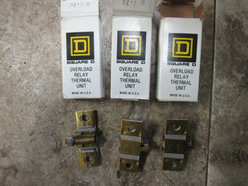 3 Square-D-Overload-Relay-Thermal-Unit-B7.70