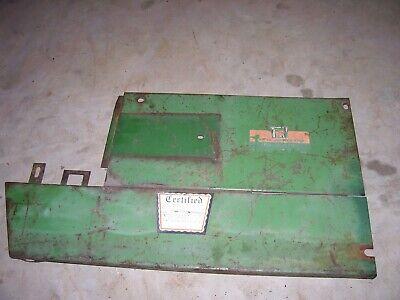 Vintage Oliver 1850 Gas Tractor - Rear Side Panel -lh- 1969