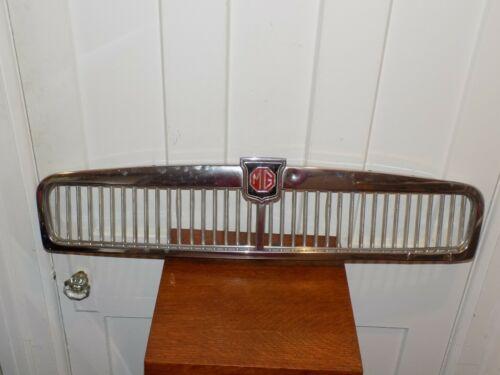 Vintage MG Car Grill