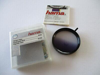 Hama Effekt-Filter Gradual Blue (Verlauf blau), 52mm , OVP, Top-Zustand !